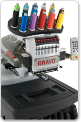 Melco Bravo Embroidery Machine