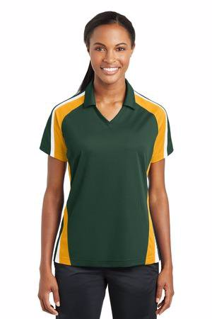 Sport-Tek Ladies Tricolor Micropique Sport-WickPolo. LST654