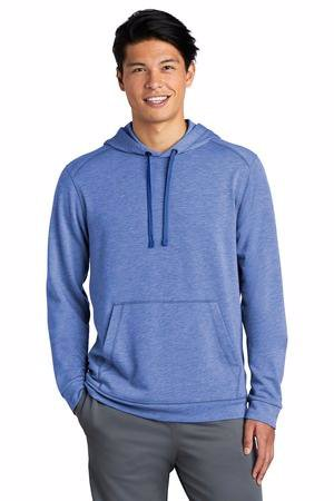 Sport-Tek  PosiCharge  Tri-Blend Wicking Fleece Hooded Pullover. ST296