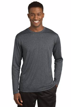 Sport-Tek Long Sleeve Heather Contender Tee. ST360LS