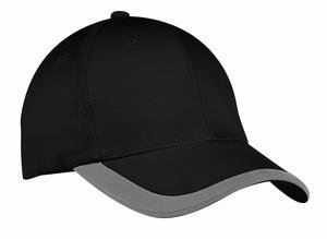 Port Authority Contrast Stripe Sandwich Bill Cap.  C867