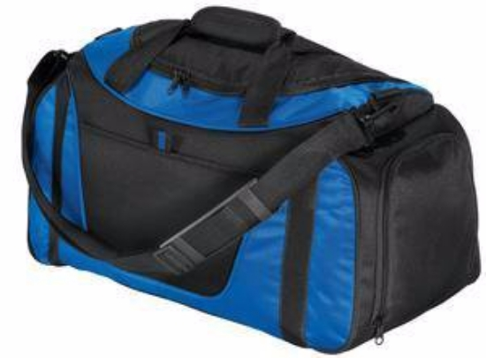 Port Authority - Small Two-Tone Duffel. BG1040