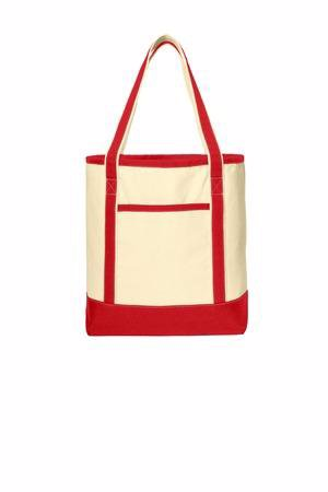 Port Authority Large Cotton Canvas Boat Tote. BG413