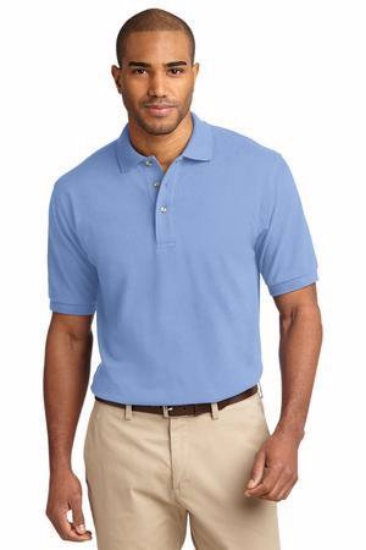 Port Authority Tall Heavyweight Cotton Pique Polo.  TLK420