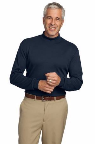Port Authority Interlock Knit Mock Turtleneck.  K321