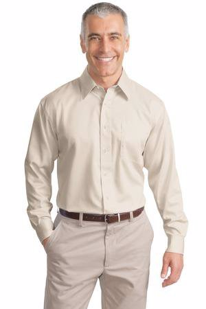 Port Authority Non-Iron Twill Shirt.  S638