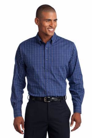 Port Authority Tattersall Easy Care Shirt. S642