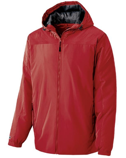 Adult Polyester Full Zip Bionic Hooded Jacket - 229017