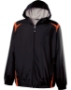 Adult Polyester Full Zip Hooded Collision Jacket - 229076