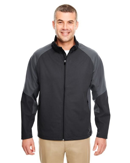 Adult Two-Tone Soft Shell Jacket - 8275