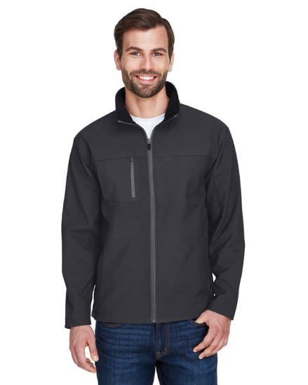 Adult Ripstop Soft Shell Jacket with Cadet Collar - 8280