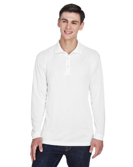 Adult Cool & Dry Sport Long-Sleeve Polo - 8405LS