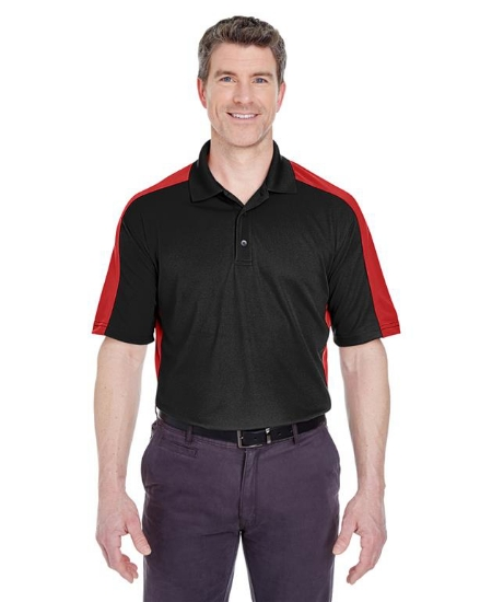 Adult Cool & Dry Stain-Release Two-Tone Performance Polo - 8447