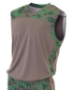 Adult Printed Camo Performance Muscle Shirt - N2345