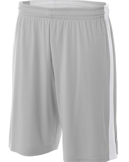 Adult Reversible Moisture Management Shorts - N5284