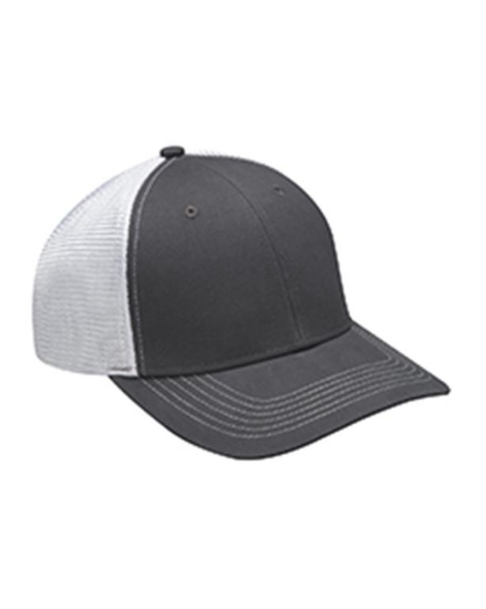 Brushed Cotton/Soft Mesh Trucker Cap - PR102