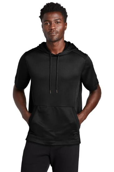 New Era  Performance Terry Short Sleeve Hoodie NEA533
