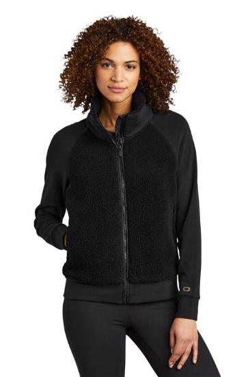 OGIO  Ladies Luuma Sherpa Full-Zip. LOG815