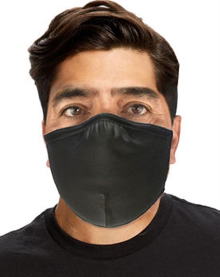 Anti-microbial Double Layer Cotton/Lycra Adjustable Mask (72 Pack)